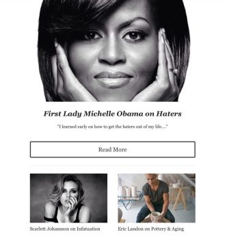 Creativly Inspired sample 2 featuring First Lady Michelle Obama