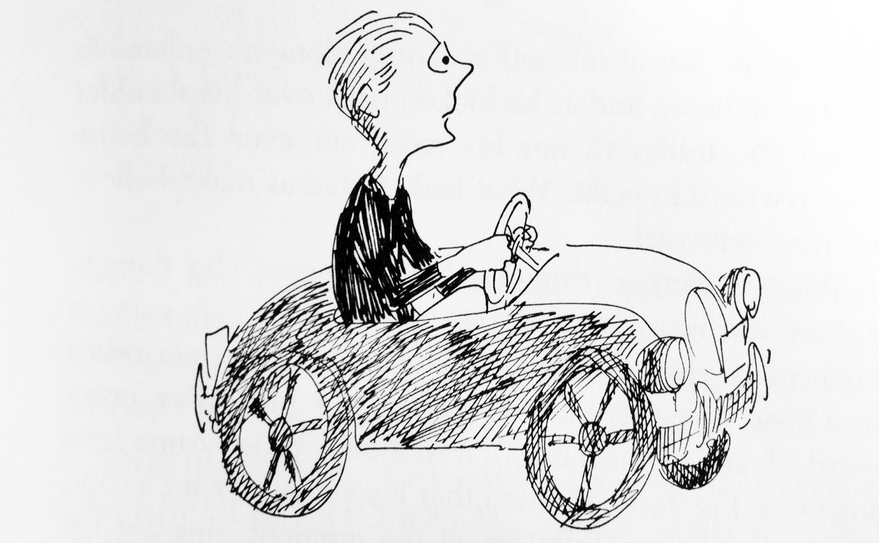 Illustration from The Phantom Tollbooth children's book